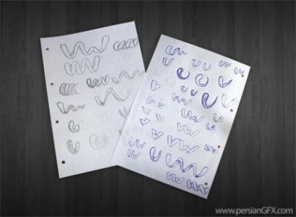 آموزش طراحی لوگو از ابتدا تا انتهاکار را با کشیدن طرح های آزمایشی روی کاغذ آغاز کردم که بیشترین تمرکز من دراین طرح ها روی حروف V و W بود تا یک طرح خلاق و بکر ایجاد کنم ...