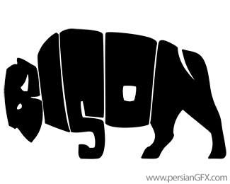35 لوگوی جالب و منحصر به فرد که شما ترغیب به دوباره دیدن آنها می ...این لوگو برای یک گروه راک در ونکوور کانادا طراحی شده است. طراح با استفاده از حروف کلمه ی BISON تصویر یک گاو میش وحشی را خلق کرده است.