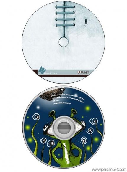 طرح های ابتکاری و جالب روی سی دی