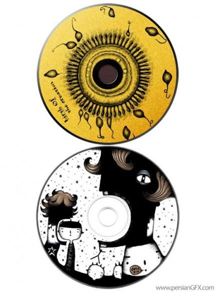 فتوگالری: طرح های ابتکاری و جالب روی سی دی