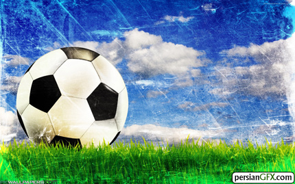 2853 Soccer Ball2560 1600 والپیپر های زیبا به همراه تقویم مرداد ماه 1391