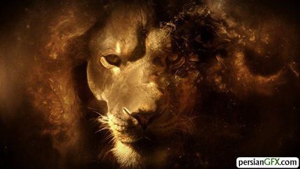 fantasy lion portrait 1920x1080 wallpaper 4141 والپیپر های زیبا به همراه تقویم مرداد ماه 1391