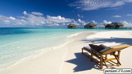 maldives conrad beach 2560x1440 wallpaper 1525 والپیپر های زیبا به همراه تقویم مرداد ماه 1391