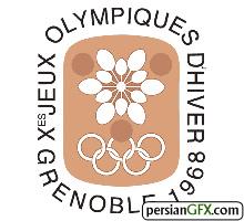Image result for آرم قدیمی المپیک