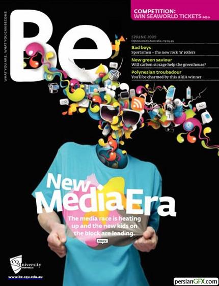 Be MagazineMagazine Cover Design Inspiration