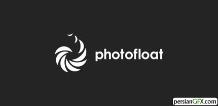 30 نمونه طراحی لوگو با تکرار طرح گرافیکی | PersianGFX - پرشین جی ...طراح: Houston-we این لوگو برای صنعت عکاسی مناسب است