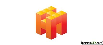30 طراحی لوگو ایزومتریک منحصر به فرد و الهام بخش | PersianGFX ...طراح: logomanlt این مکعب از حروف H و H و N تشکیل شده است.