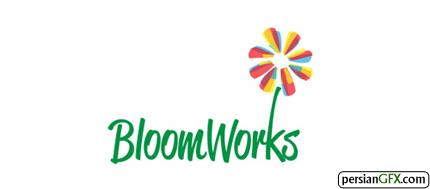 30 طرح شگفت انگیز از لوگوی گل | PersianGFX - پرشین جی اف ایکسBloomworks