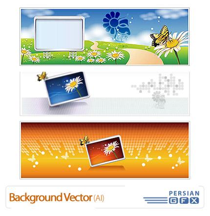 تصاویر پس زمینه وکتور - Background Vector