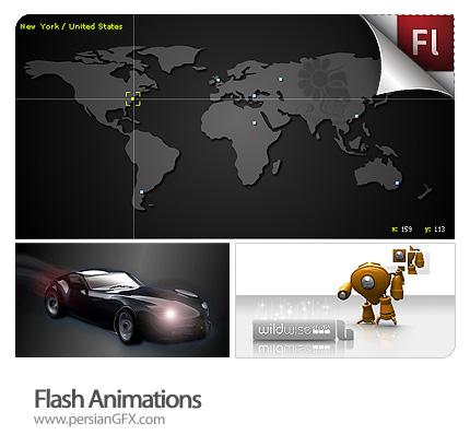 مجموعه انیمیشن فلش های جالب  - Flash Animations