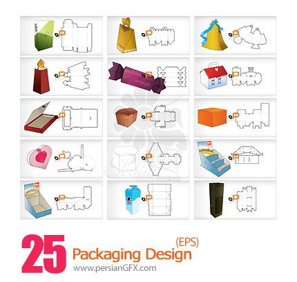 نمونه های آماده طراحی بسته بندی - Packaging Design