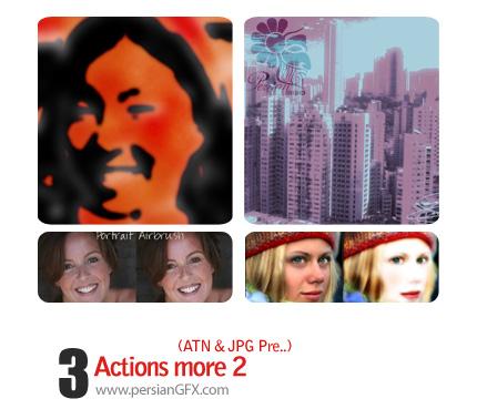 سری جذاب اکشن های روتوش و نقاشی تصاویر  - Actions More 02