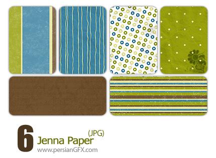 شش نمونه پترن جذاب - Jenna Paper