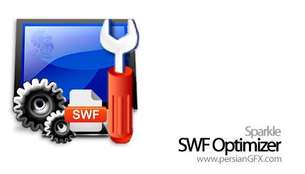 کاهش 70 درصدی حجم فایلهای SWF فلش با Sparkle SWF Optimizer 1.10