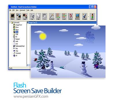 ساختن محافظ صفحه نمایش با فلش توسط Flash Screen Saver Builder 4.5