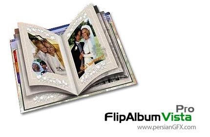 FlipAlbum Vista Pro 7.0.1.363 نرم افزاری جهت ساخت آلبوم های عکس دیجیتالی