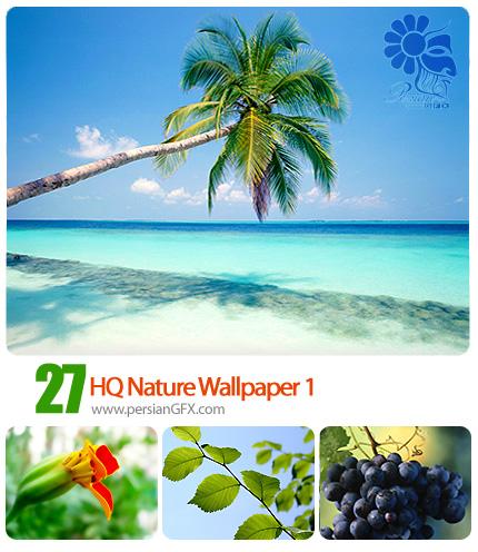 پس زمینه های با کیفیت از طبیعت زیبا، شماره یک - HQ Nature Wallpaper 01