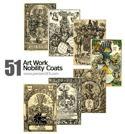 مجموعه آثار هنری، تصویر سازی - Art Work Nobility Coats