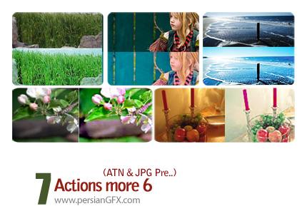 سری جذاب اکشن های تنظیم نور تصاویر - Actions More 06