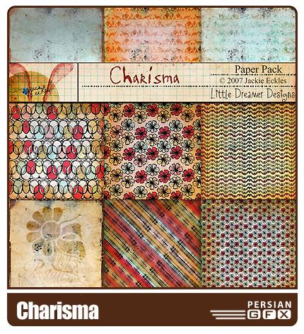 مجموعه طرح های کلیپ آرت های جذاب - Charisma Clip Art