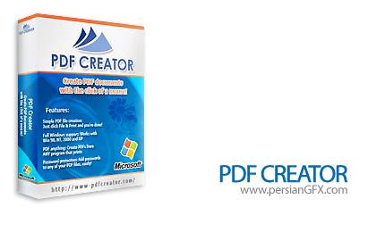 ساخت فایل های PDF توسط نرم افزار PDFCreator 0.9.8