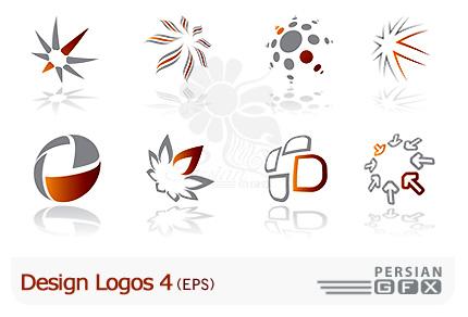 مجموعه طراحی لوگو شركت های تجاری شماره چهار - Design Logos 04
