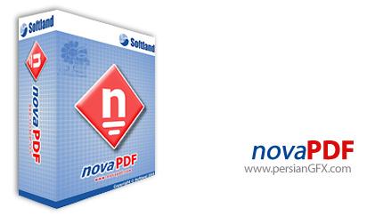 ساخت فایل های پی دی اف با novaPDF Professional Desktop 7.0.321