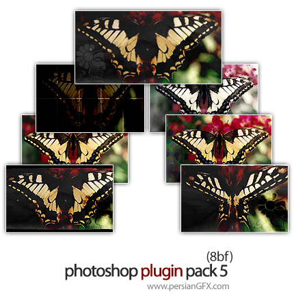 مجموعه پلاگین فتوشاپ جهت ویرایش تصاویر - Photoshop Plugin Pack 05