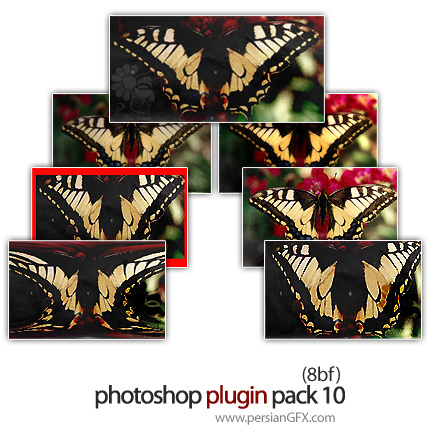 مجموعه پلاگین فتوشاپ جهت ویرایش تصاویر - Photoshop Plugin Pack 10