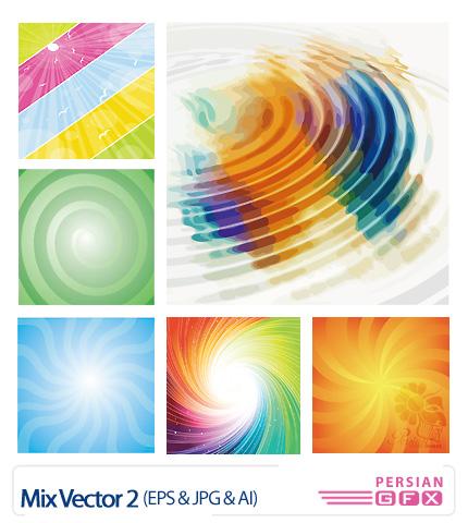 مجموعه تصاویر وکتور جذاب و زیبا شماره دو - Mix Vector 02
