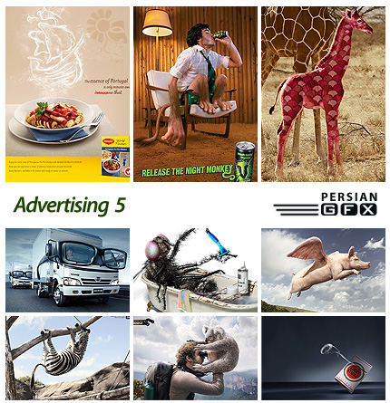 تصاویر تبلیغاتی جالب شماره پنج - Advertising 05