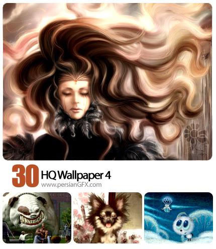 پک تصاویر پس زمینه گرافیکی - Hq Wallpapers 04