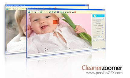 افزایش کیفیت تصاویر zoom شده توسط Cleanerzoomer Professional 4.02a