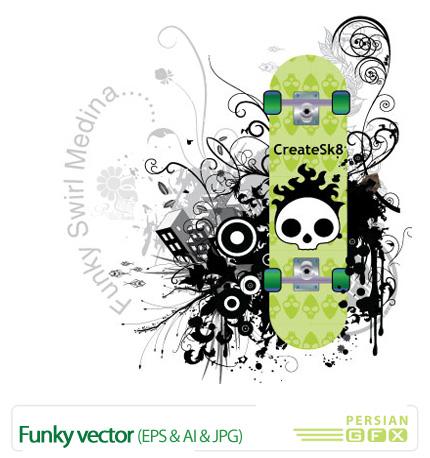 پک وکتور جذاب - Funky Vactor