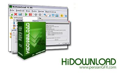 مدیریت دانلود فایل توسط HiDownload Pro 7.72