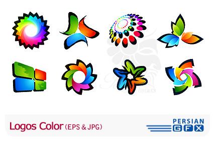 کلکسیون زیبا از لوگو های رنگی - Logo Color