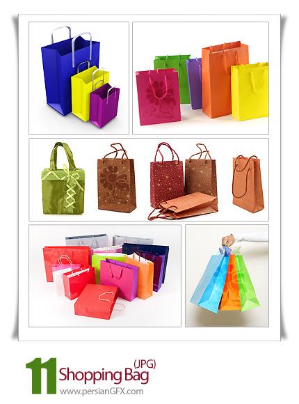 مجموعه تصاویر ساک های خرید - Shopping Bag