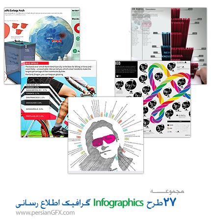 مجموعه طرح های زیبا از اینفوگرافی یا همان گرافیک اطلاع رسانی -27  Beautiful Examples of Infographics