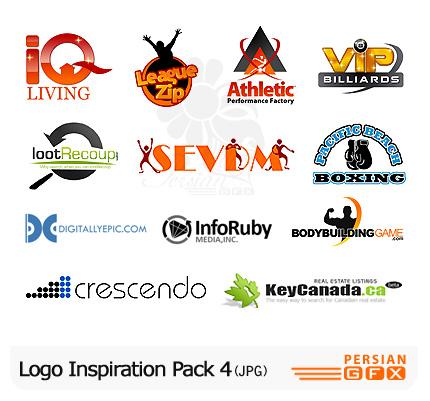 کلکسیون لوگوهای الهام بخش شماره چهار - Logo Inspiration Pack 04