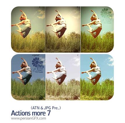 اکشن تغییر رنگ تصاویر - Actions More 07