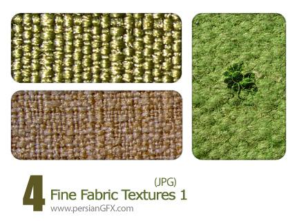 بافت با تارو پود ظریف شماره یک - 01 Fine Fabric Textures