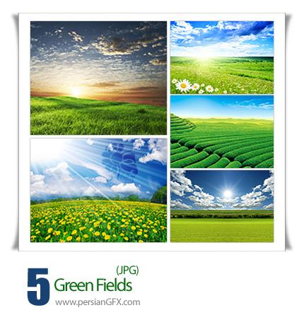 تصاویر طبیعت سبز - Green Fields