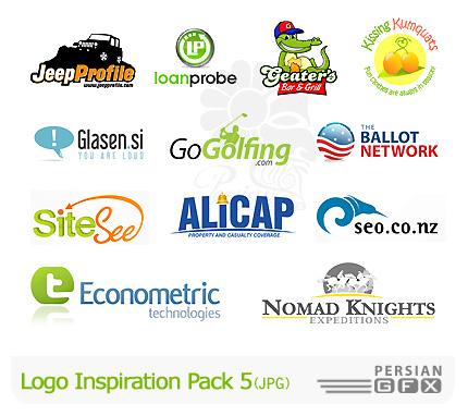 کلکسیون لوگوهای الهام بخش شماره پنج - Logo Inspiration Pack 05