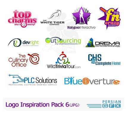 کلکسیون لوگوهای الهام بخش شماره شش - Logo Inspiration Pack 06