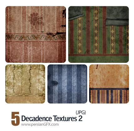 کاغذ دیواری فرسوده شماره دو - Decadence Textures 02