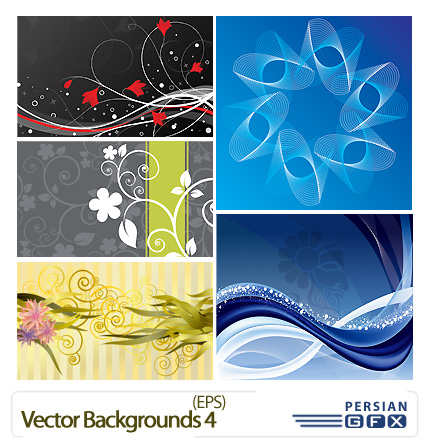 وکتور پس زمینه شماره چهار - Vector Backgrounds 04