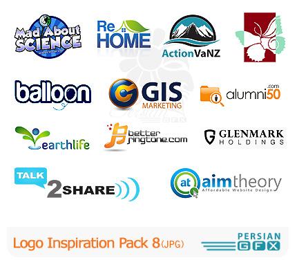کلکسیون لوگوهای الهام بخش شماره هشت - Logo Inspiration Pack 08