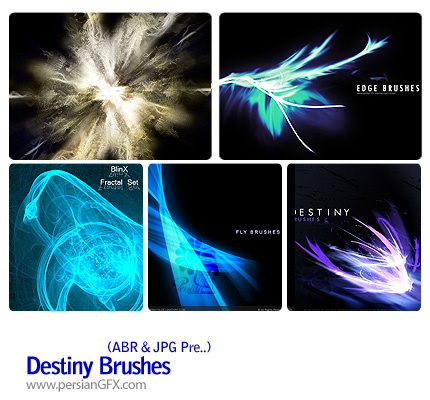 براش های خطوط نورانی - Destiny Brushes