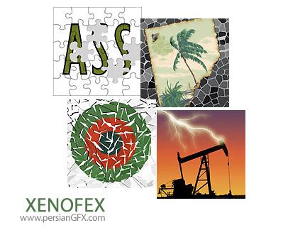دانلود پلاگین افکت های تصویری واقعی و تغییر جنس جزئیات تصاویر - Alien Skin Xenofex 2.6.1.1078