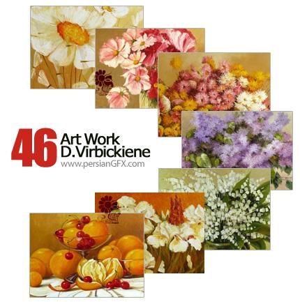 مجموعه آثار هنری، نقاشی - Art Work Danute Virbickiene